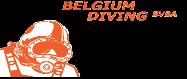 Nieuwe site voor Belgium Diving